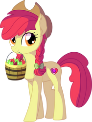 Apple Bloom Vector 17 - Want Some Apples by CyanLightning