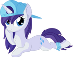 Rarity Vector 27 - Hat by CyanLightning