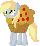 Derpy Vector 05 - Muffin Costume
