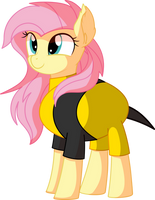 Fluttershy Vector 31 - Bee Costume by CyanLightning
