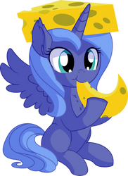 Princess Luna Vector 05 - Cheesy Woona by CyanLightning