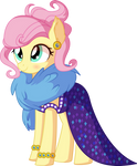 Fluttershy Vector 32 - Impossibly Rich by CyanLightning