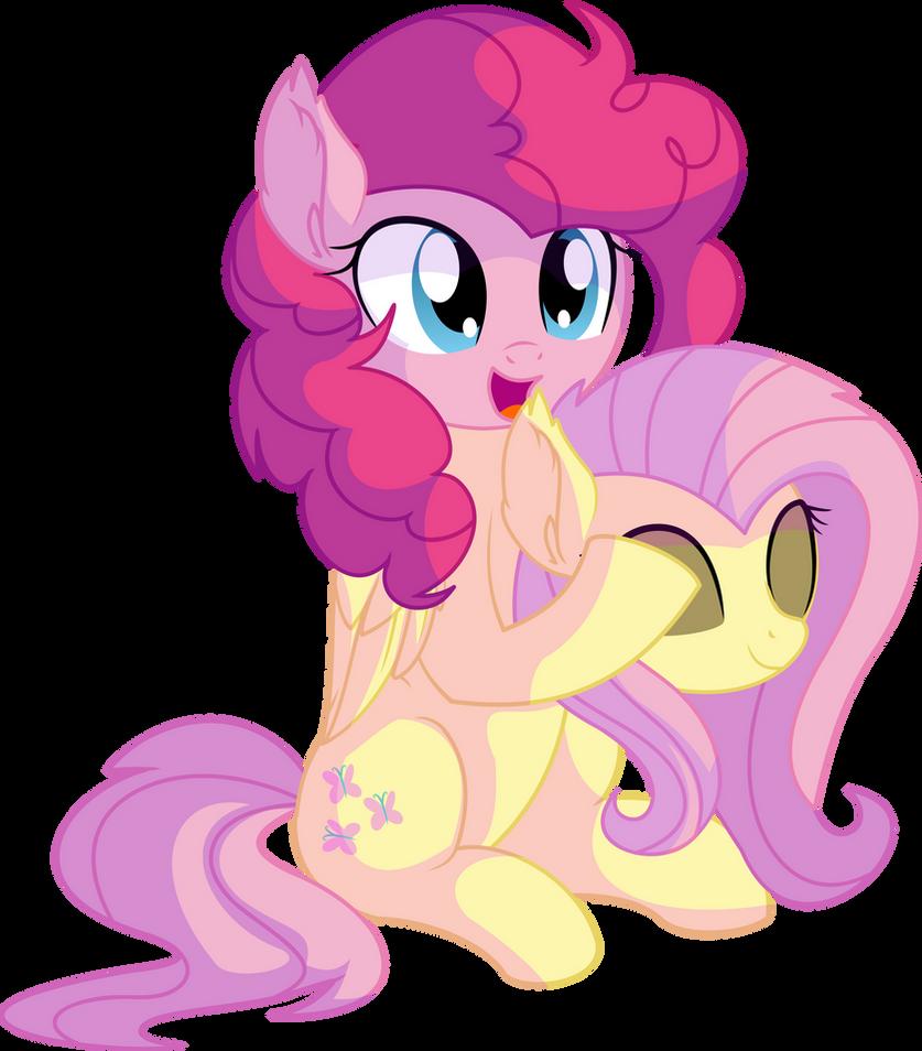 pinkie_pie_vector_27___fluttershy_costum