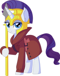 Rarity Vector 28 - Royal Detective by CyanLightning