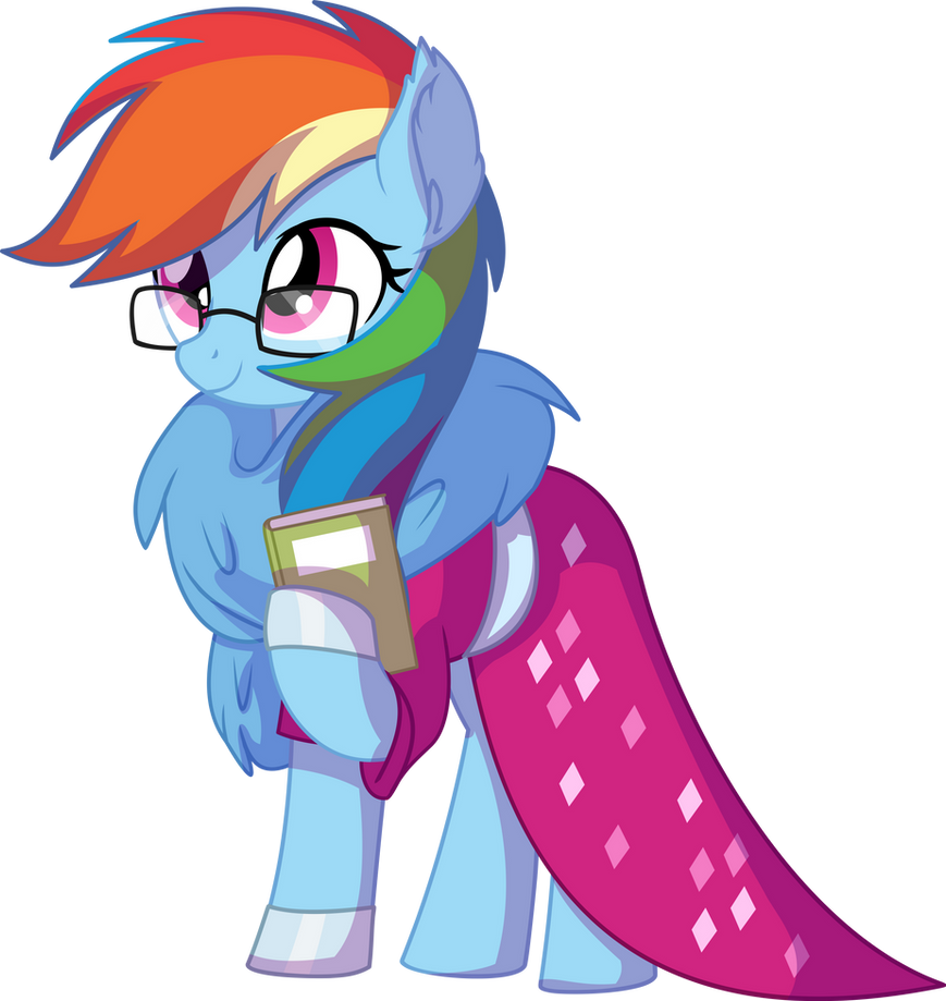rainbow_dash_vector_28___the_nerd_in_the