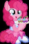 Pinkie Pie Vector 28 - Cupcakes