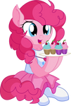 Pinkie Pie Vector 28 - Cupcakes by CyanLightning