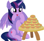 Twilight Sparkle Vector 55 - Hayburgers by CyanLightning