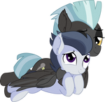 Rumble and Thunderlane Vector - Brother's Hug by CyanLightning
