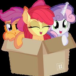 Cutie Mark Crusaders in a Box