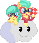 Barley Barrel and Pickle Barrel - Lakitu by CyanLightning