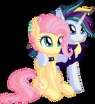 Raripunk and Flutterpunk by CyanLightning