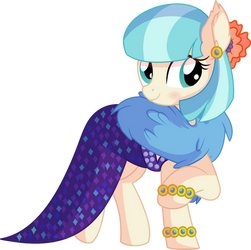Coco Pommel Vector 16 - The Coco in the Dress by CyanLightning