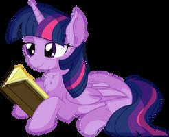Twilight Sparkle Vector 56 - Book