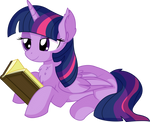 Twilight Sparkle Vector 56 - Book