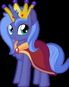 Princess Luna Vector 07 - Cape and Crown