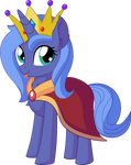 Princess Luna Vector 07 - Cape and Crown