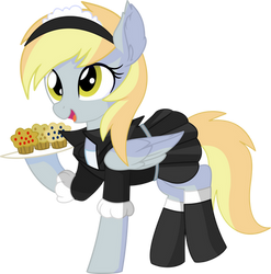 Derpy Vector 06 - Muffin Time