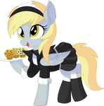 Derpy Vector 06 - Muffin Time by CyanLightning