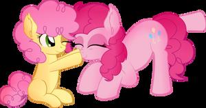Pinkie Pie and Li'l cheese  - Boop