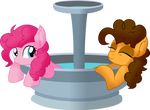 Pinkie Pie and Cheese Sandwich - Fountain Date