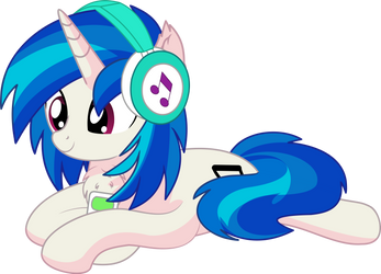 Vinyl Scratch 05 - Relaxing with Music
