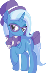 Trixie Vector 07 - Hipster by CyanLightning