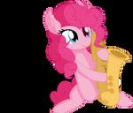 Pinkie Pie Vector 32 - Epic Sax Mare