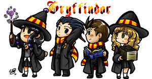 AA:HP Crossover- Gryffindor