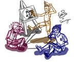 Booklet doodle kids by Esabelle-Ryngin