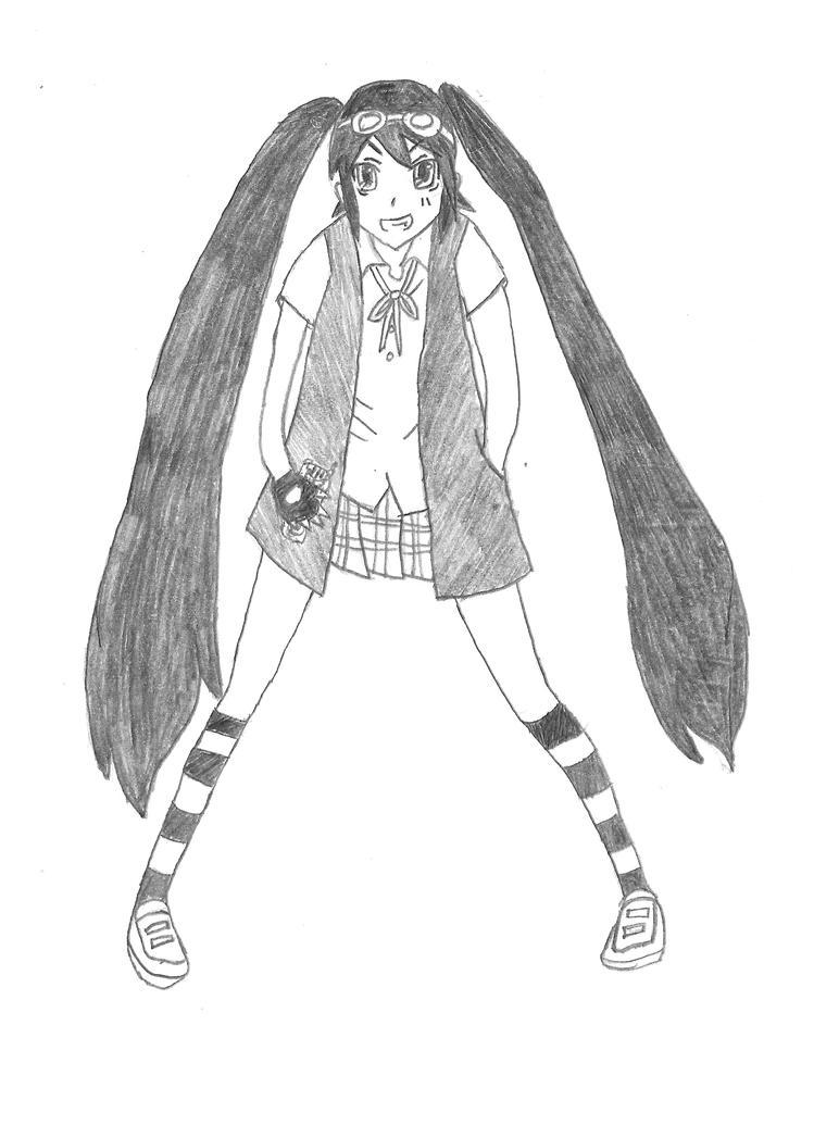 Ayana 'Aya' Kagurazaki by XAngelCharityX