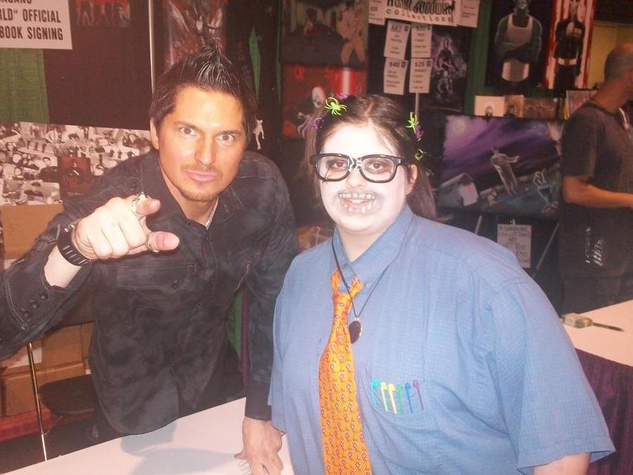 When i met Zak Bagans!!!!! by XxNeverShoutNeverx