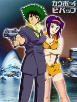 Spike and Faye: Version 1 by CaptRicoSakara