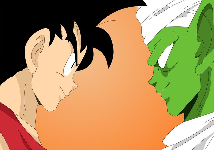 Goku Vs Piccolo by Ezequiel-D