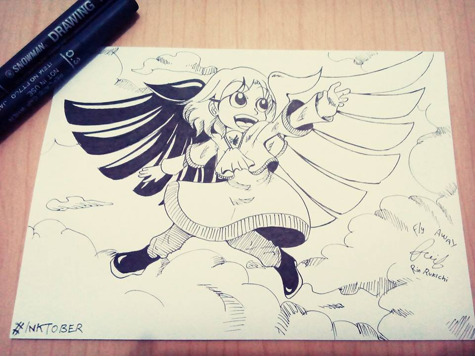 Fly Away! Fallen Angel by rinrukichi