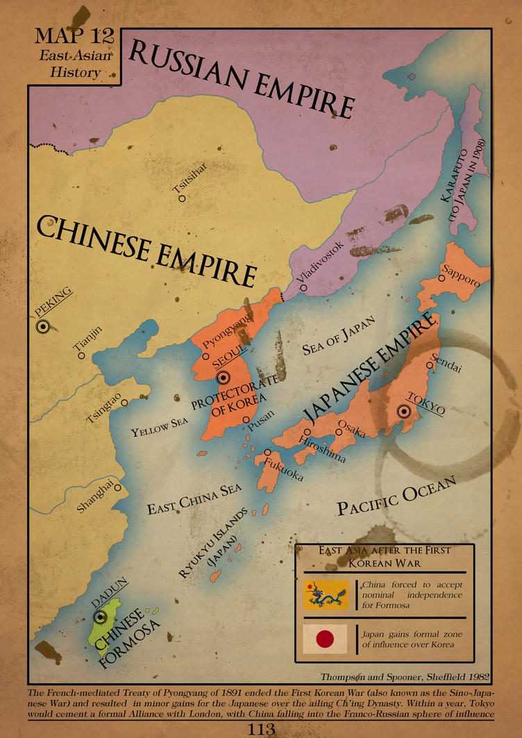 East Asia after the First Korean War by LordRoem