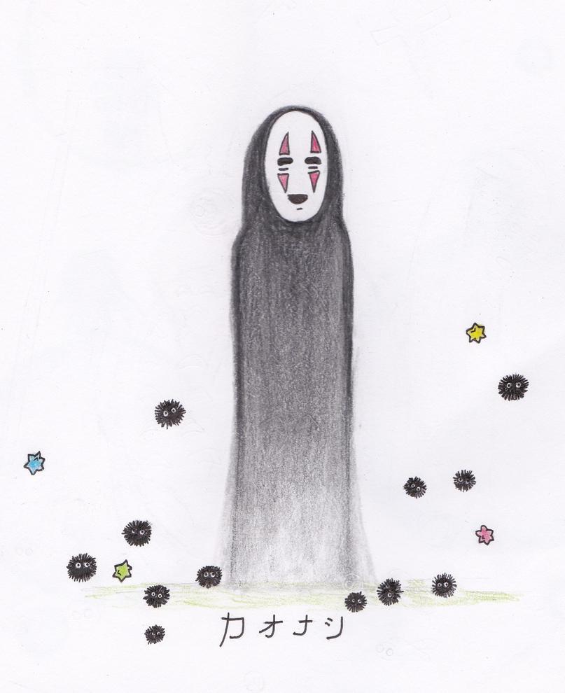 Kaonashi by WalkswithChrist