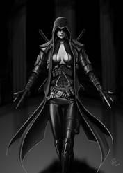 Modern Assassin by captdiablo