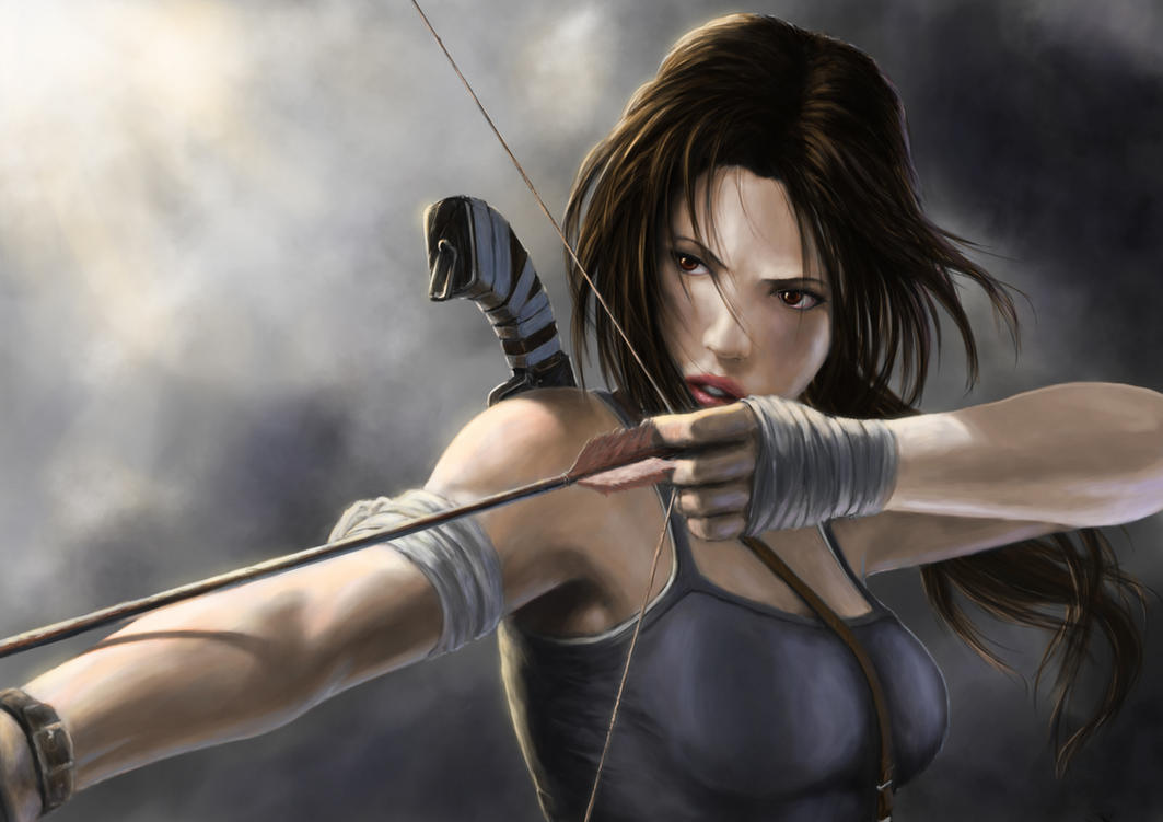 Lara Croft by captdiablo