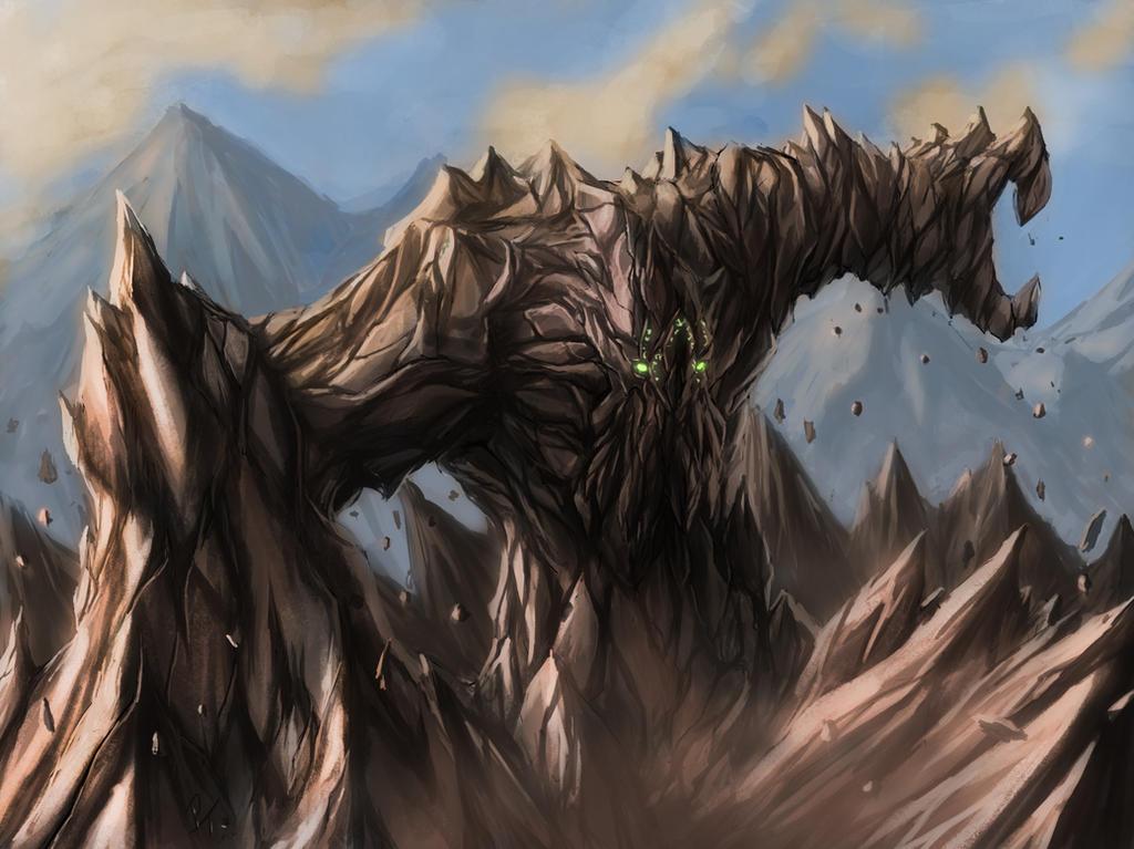 Earth elemental by captdiablo