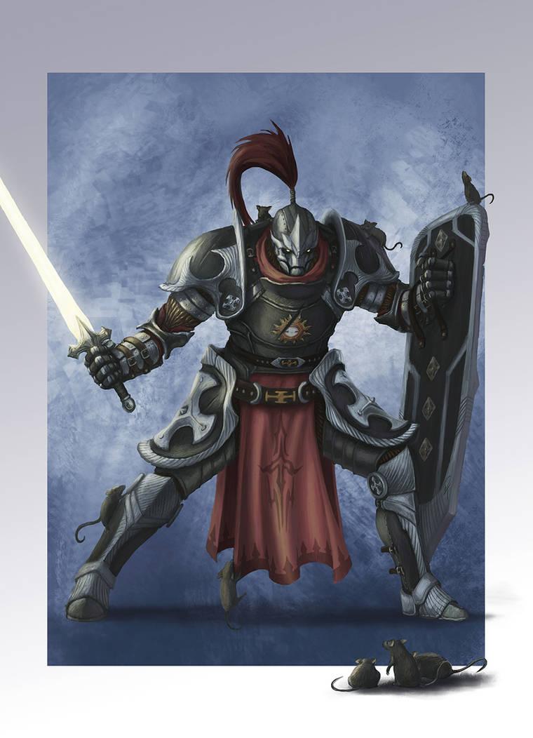 Commission - Warforged Paladin by captdiablo on DeviantArt