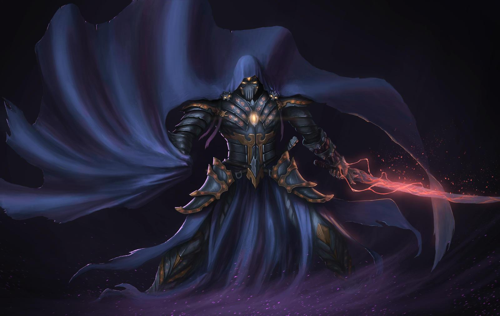 Commission - Big Bad Warlock