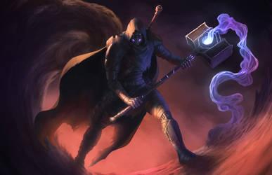 Warforged Wild Magic Barbarian