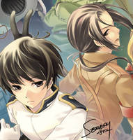 APH  Asia's brothers war by SERAPHLEI