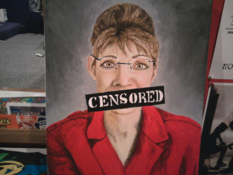 Palin Censored by ek8997