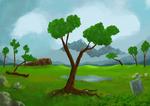 Landscape painting 4