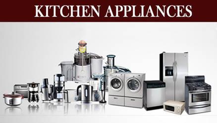 Kitchen Appliances at your Nearest Store by VRMerchants