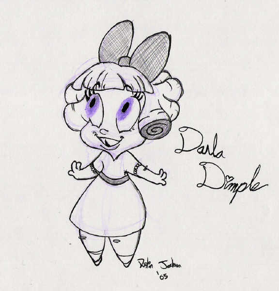 Darla Dimple by dustindemon
