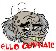 Old Man Moddy by dustindemon