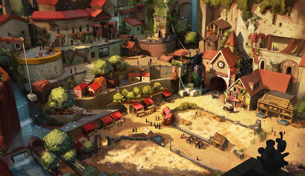 The township by Sammavanklaarbergen